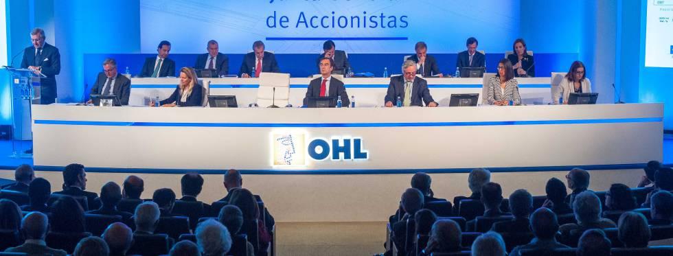 OHL dará las riendas a Fernández Gallar tras la renuncia de