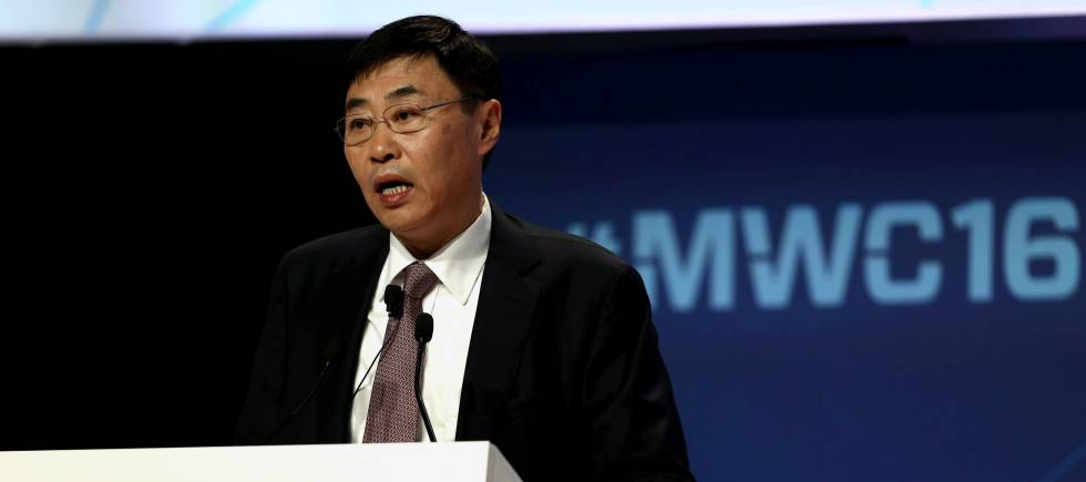 Shang Bing, presidente de China Mobile