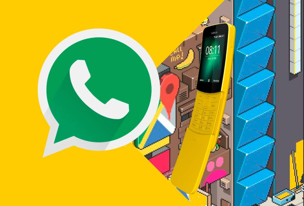 Confirmado, el Nokia 8110 Reloaded será compatible con WhatsApp