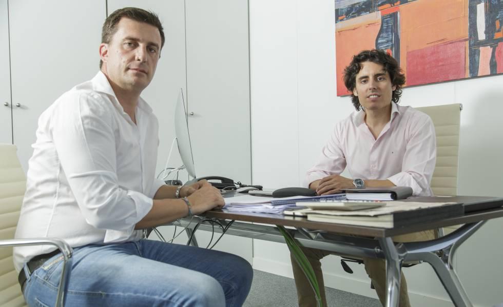 Daniel de Carvajal y Luis Martín Lázaro, socios emprendedores detrás de Luda.