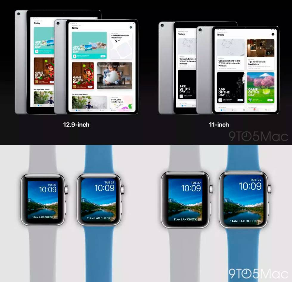 ipad Apple Watch