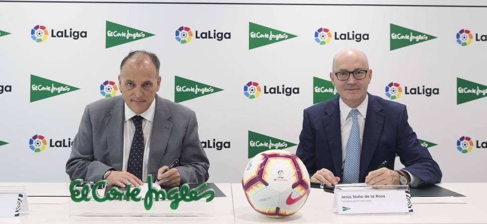 El Corte Inglés venderá entradas de partidos de la Liga de fútbol