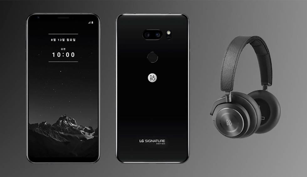 Nuevo LG V35 ThinQ Signature Edition, el móvil de los 1.500 euros