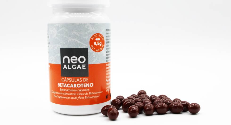 Neoalgae ha empezado a desarrollar cápsulas con betacaroteno para broncearse.