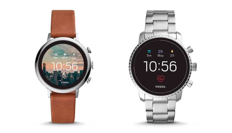 b7f04700a1a0 Nuevos smartwatch Fossil Q Venture HR y Q Explorist HR con Wear OS ...