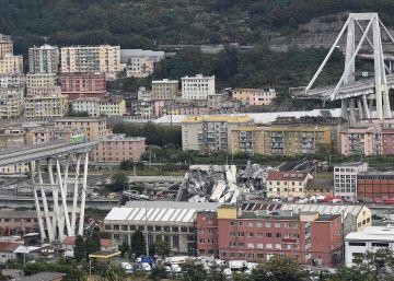 La tragedia de Génova, en imágenes