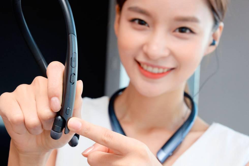 Nuevos auriculares LG con Google Assistant que traducen simultáneamente