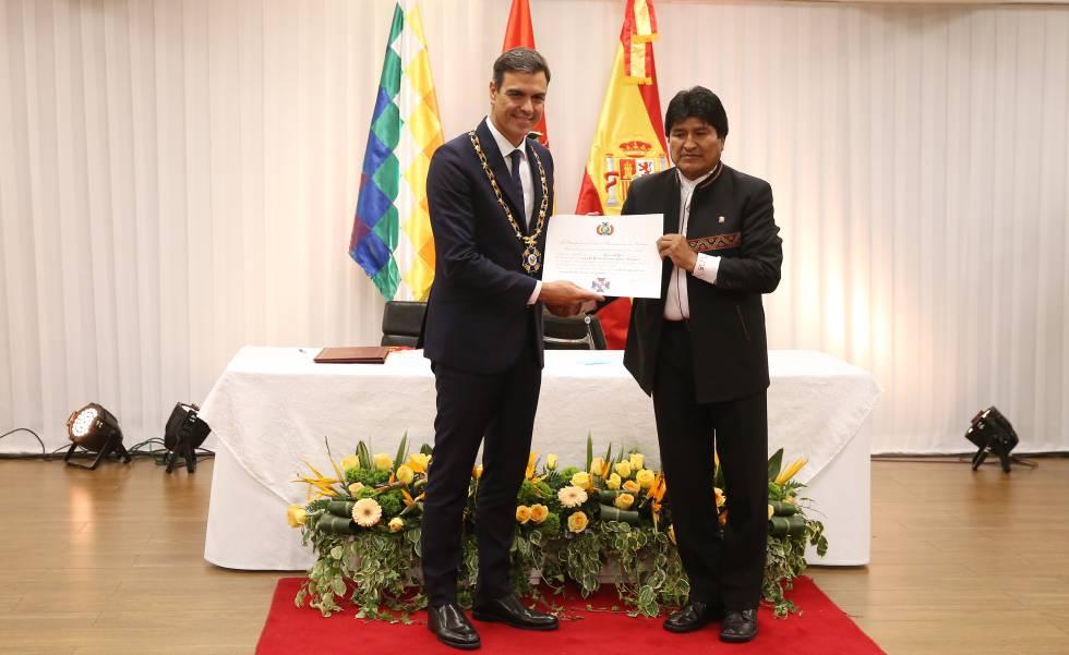 Bolivia abre la puerta a España para partipar en el tren bioceánico