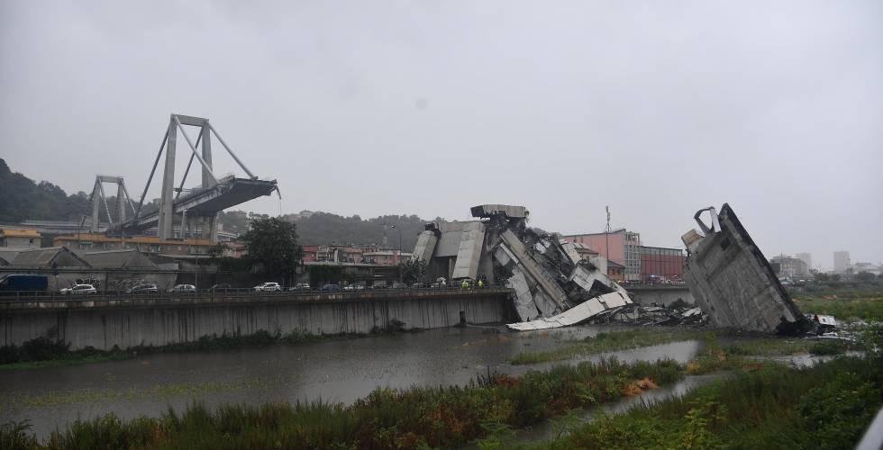 ¿Por qué se cayó el puente de Génova?