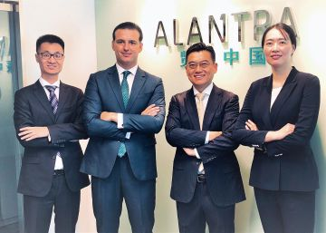 Alantra refuerza su presencia en China