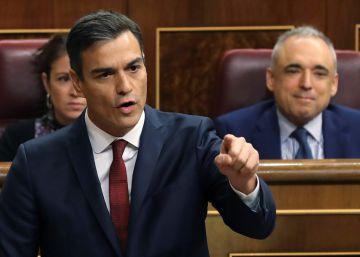 Sánchez anuncia medidas legales contra el Parlament por su reprobación al Rey