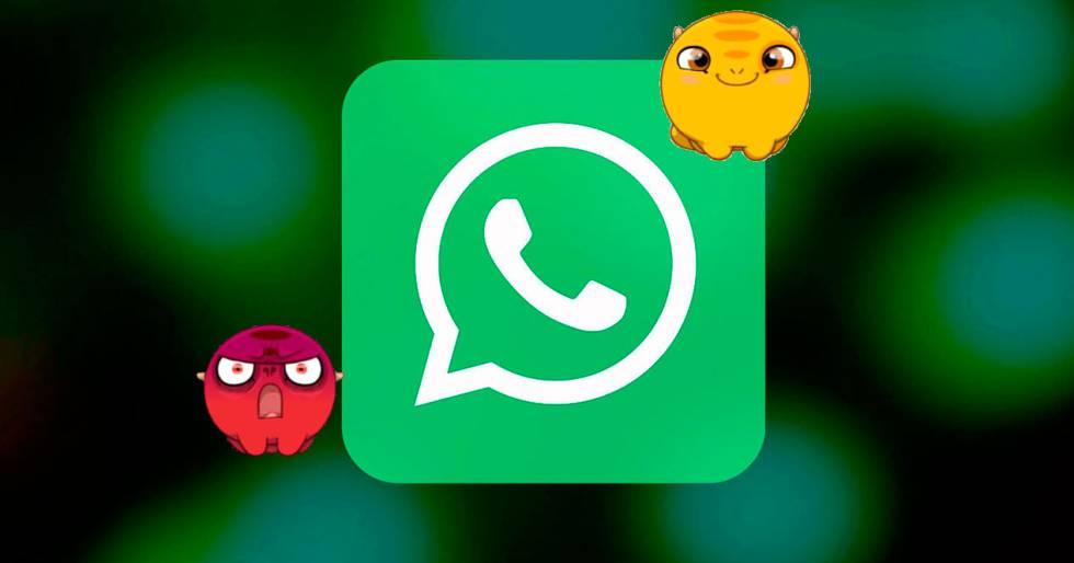 Los stickers llegan a WhatsApp, así puedes utilizarlos