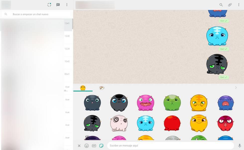 WhatsApp Web: cómo enviar los nuevos stickers desde el PC