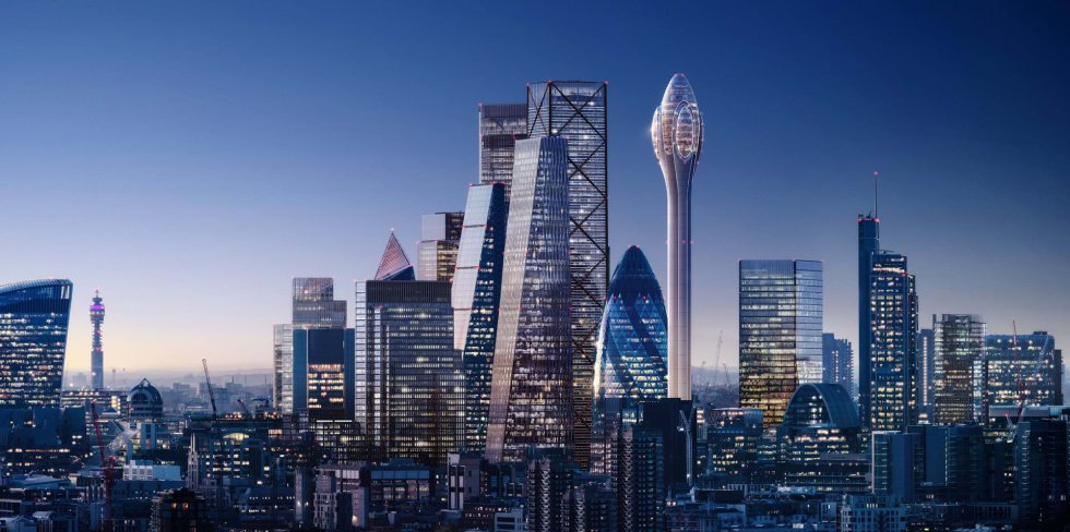 Este futuro rascacielos prevé levantarse al lado del edificio Gherkin (El Pepinillo), que es uno de los más emblemáticos y conocidos del 'skyline' londinense.