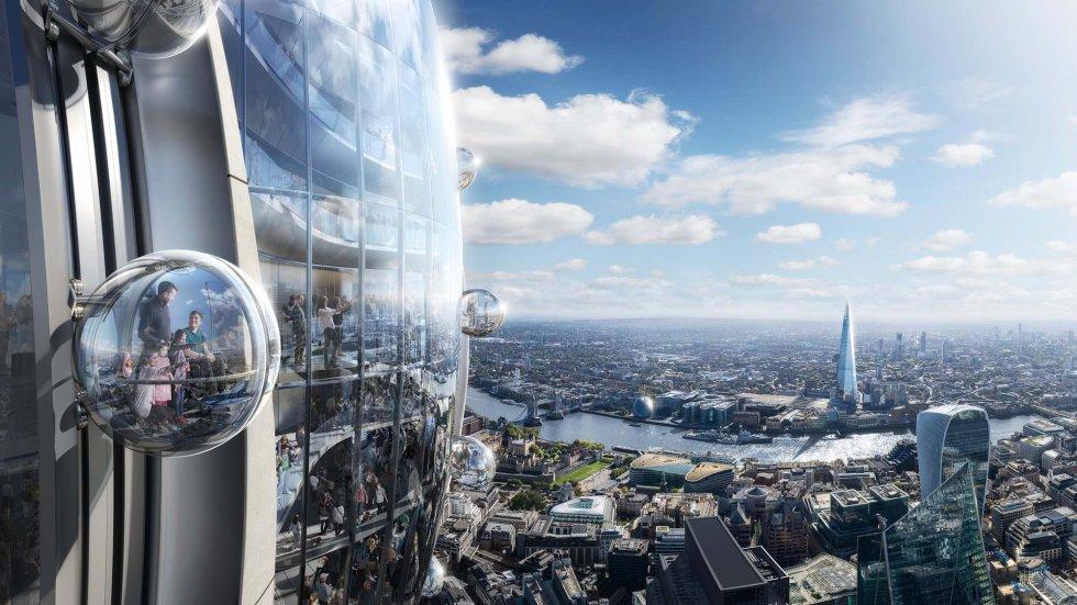 Las paredes interiores de El Tulipán serán de vidrio y contará con materiales interactivos y con un ascensor externo transparente.