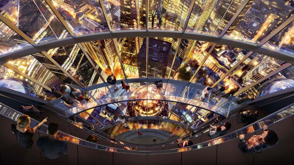 Puentes y toboganes de cristal, en la parte alta del rascacielos que se denominará 'La Góndola', serán algunas de las atracciones para los visitantes.