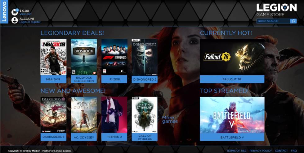 Lenovo diversifica su negocio y lanza una tienda de juegos para PC ... fc68292e6e75