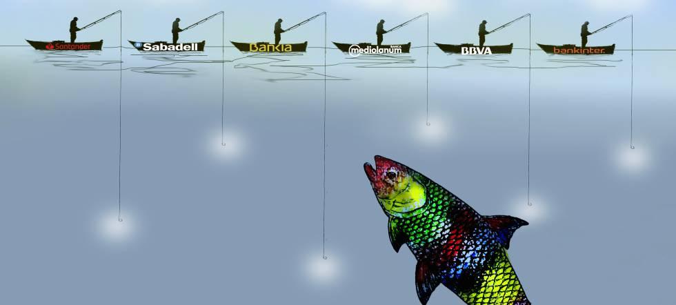Los bancos echan el resto para pescar el ahorro