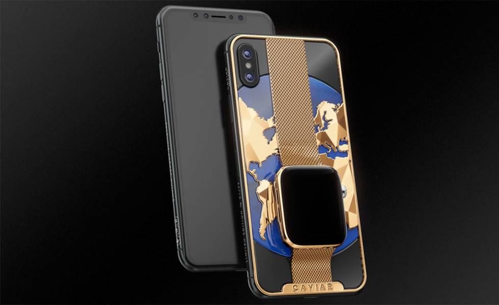 6c8875dd58a Este conjunto de iPhone XS Max y Apple Watch cuesta más de 18.000 ...