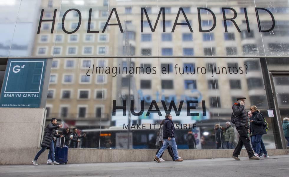 55e3849d330a59 Huawei planea abrir su  Flagship store  en la Gran Vía de Madrid a ...