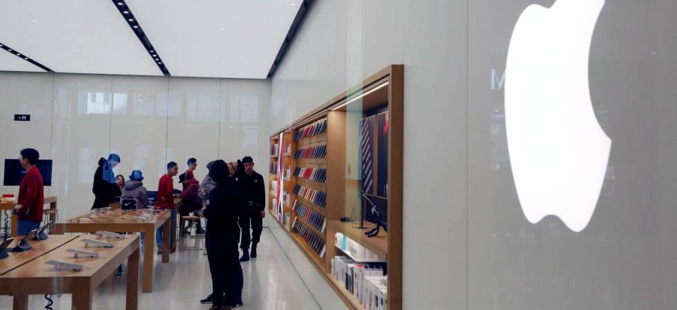 Tienda de Apple en Beijing (China)
