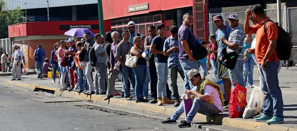Venezuela ha destruido la mitad de su economía en seis años | Economía | Cinco Días