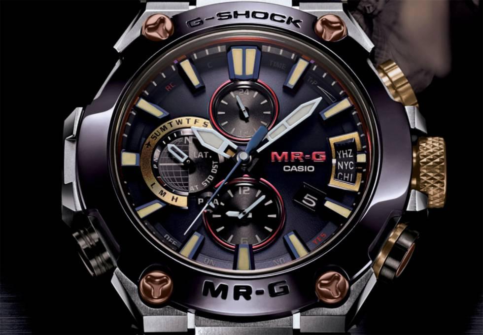a9745abb7394 Casio lanza su reloj G-Shock de titanio más resistente