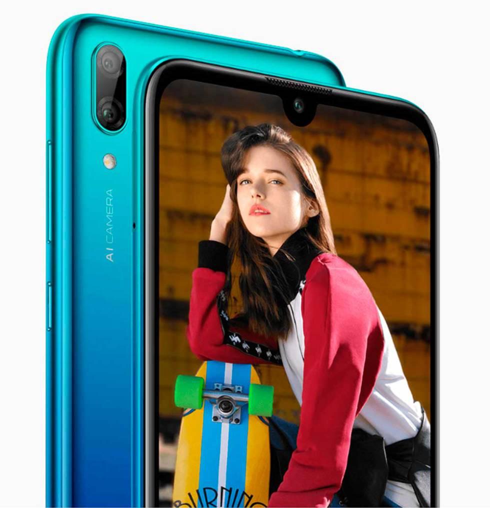 Nuevo Huawei Y7 2019, todo pantalla, cámara dual y económico ...