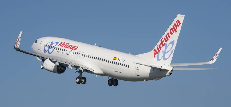 air europa tripulacion