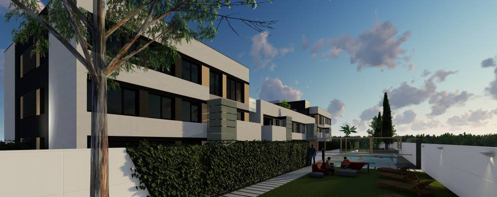 Vía Célere anuncia el primer bloque de viviendas hecho íntegramente en fábrica