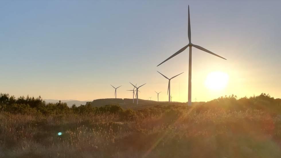 El parque eólico El Marquesado, de Viesgo, entrará en funcionamiento el próximo verano.