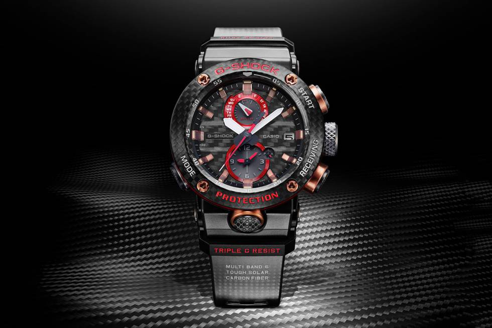 fe484afb2e68 Casio lanza un nuevo G-Shock de edición limitada con bluetooth por 900 euros