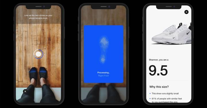 rociar Generalmente hablando Luna  Nike lanza una 'app' para saber cuál es (de verdad) tu talla de ...