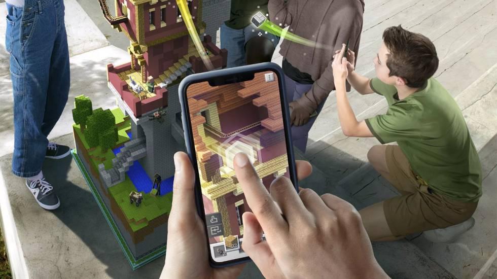 Minecraft Earth llega dispuesto a quitarle el trono a Pokémon GO