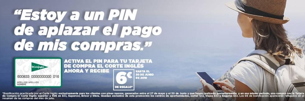 e0a90995c7d0 El Corte Inglés vuelve a regalar seis euros a los clientes de su ...
