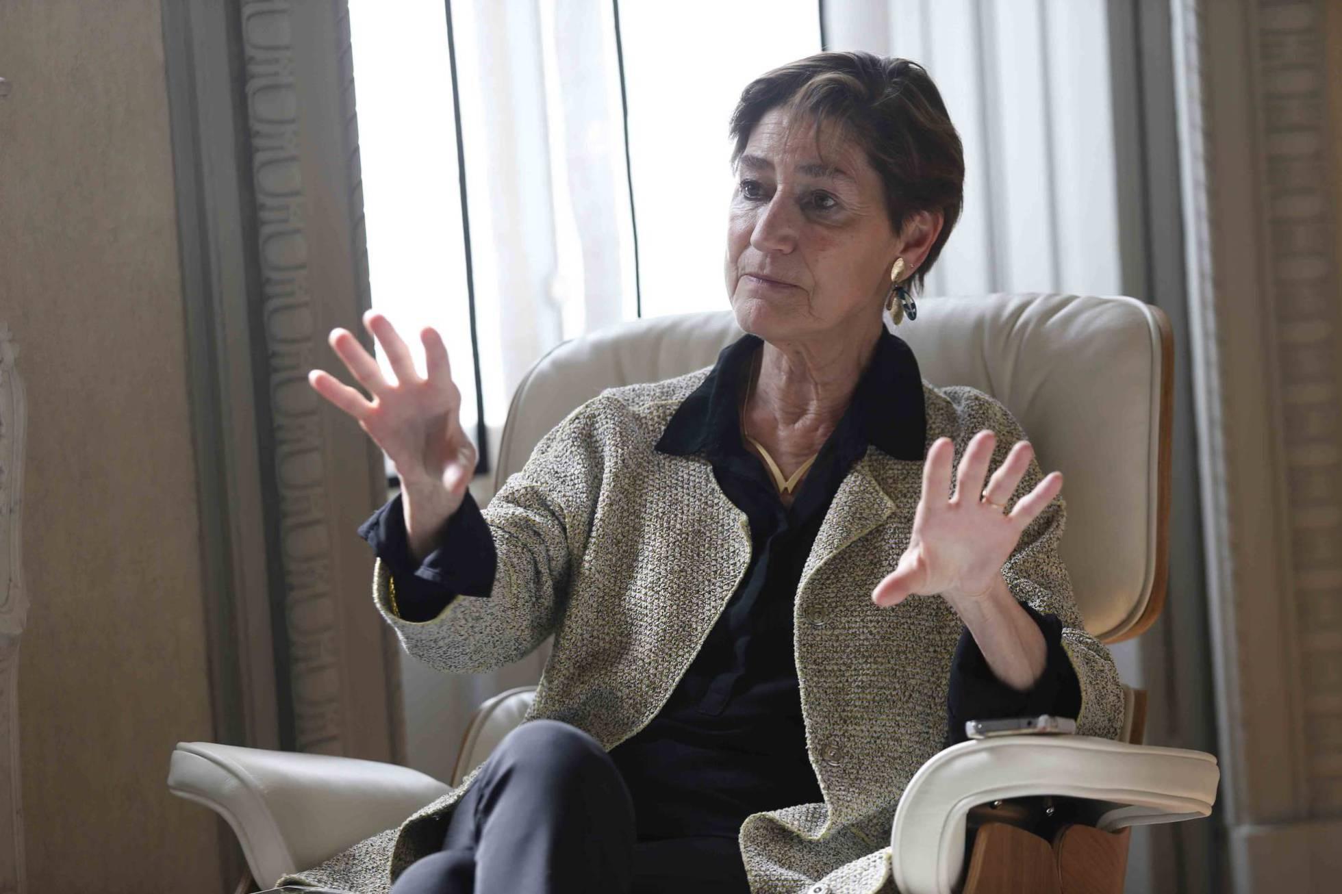 """Victoria Ortega: Sería bueno tener a una abogada al frente de Justicia"""""""