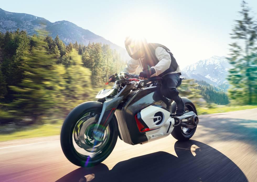 Así será la nueva moto eléctrica de BMW   Motor   Cinco Días