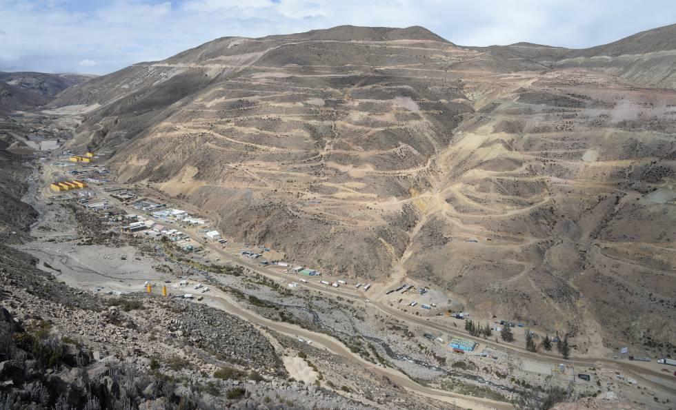 Sacyr entra con Anglo American en una de las mayores minas de cobre del mundo
