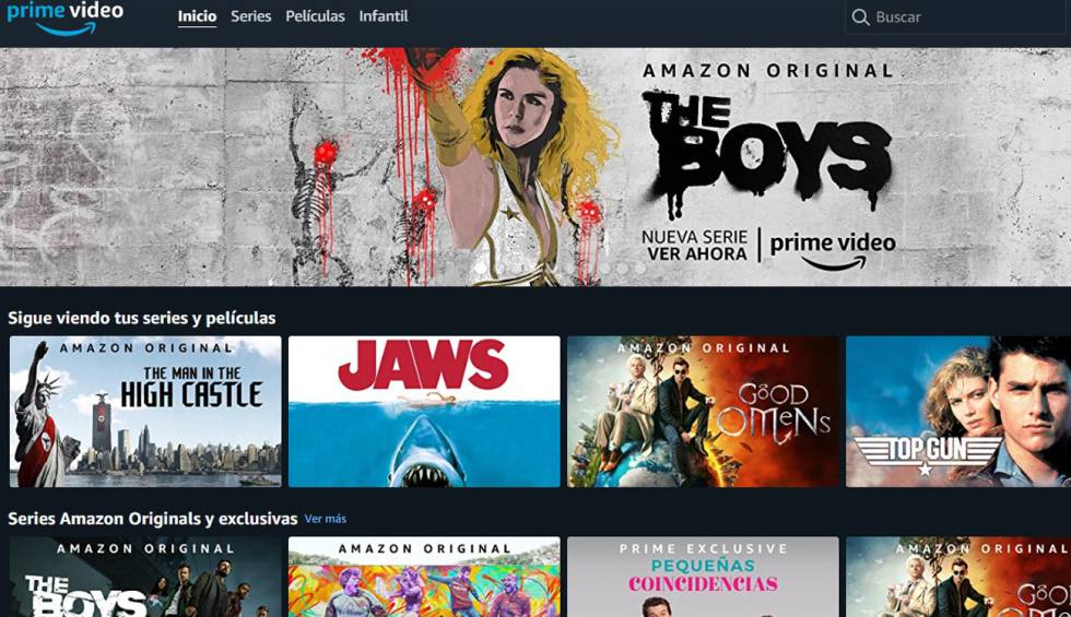Que Nadie Sepa Lo Que Ves En Amazon Prime Video Borra El Historial Smart Tv Cinco Días