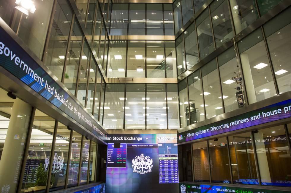 La Bolsa de Londres, en una imagen de archivo.