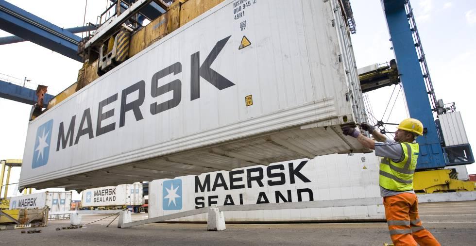 Maersk deja atrás las pérdidas y gana 45 millones en el primer semestre