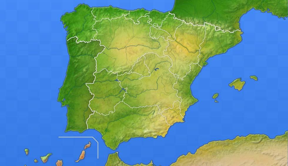 Mapas De España Para Descargar E Imprimir Completamente Actualizados Lifestyle Cinco Días
