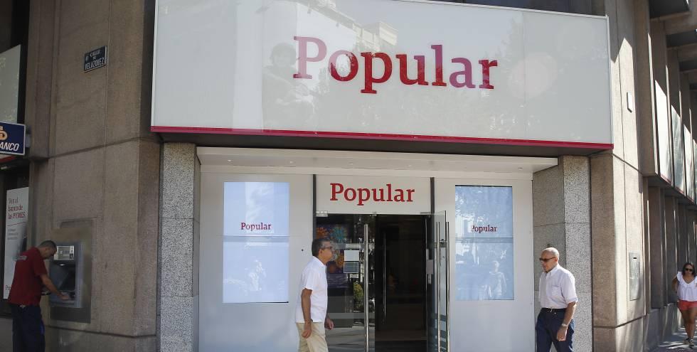 Oficina de Banco Popular ya desaparecido