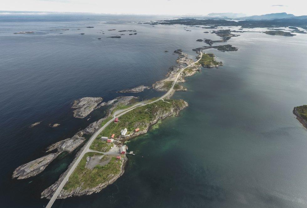 Fotos: De 'roadtrip' por las carreteras escénicas de Noruega
