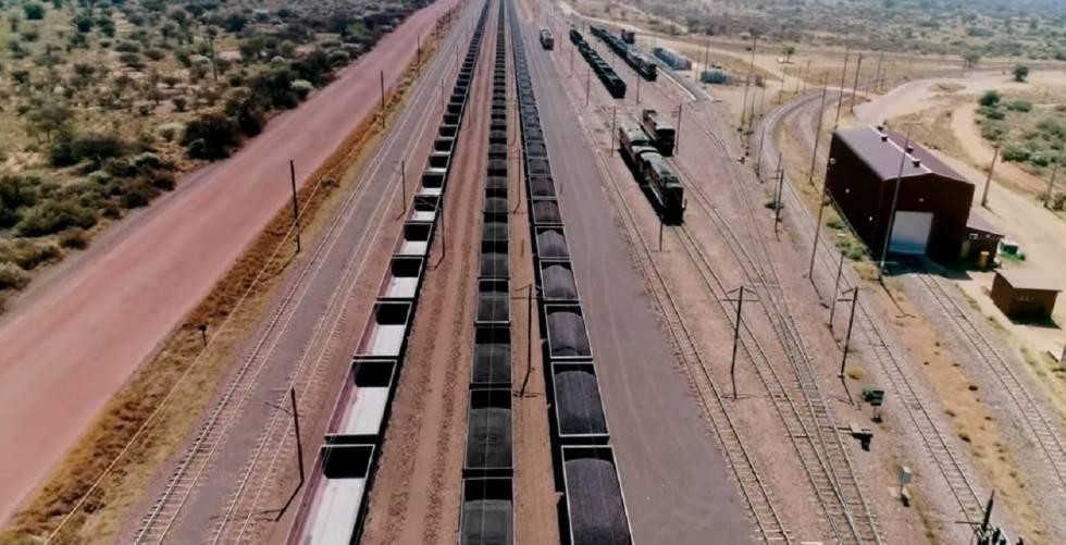 El tren más largo del mundo:375 vagones y cuatro kilómetros de largo