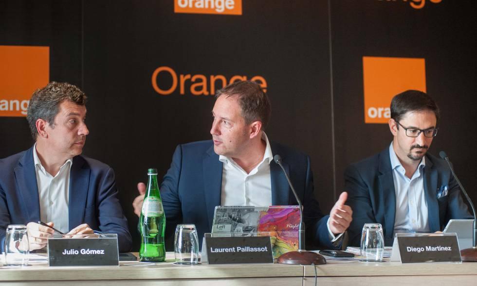 Julio Gómez, Laurent Paillassot and Diego Martínez, in the last presentation of results.