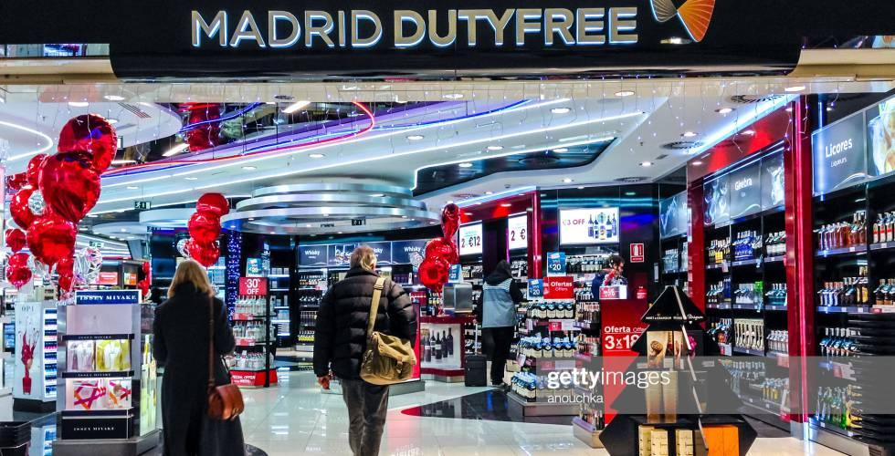 Terminal T4 del Aeropuerto de Madrid Barajas.