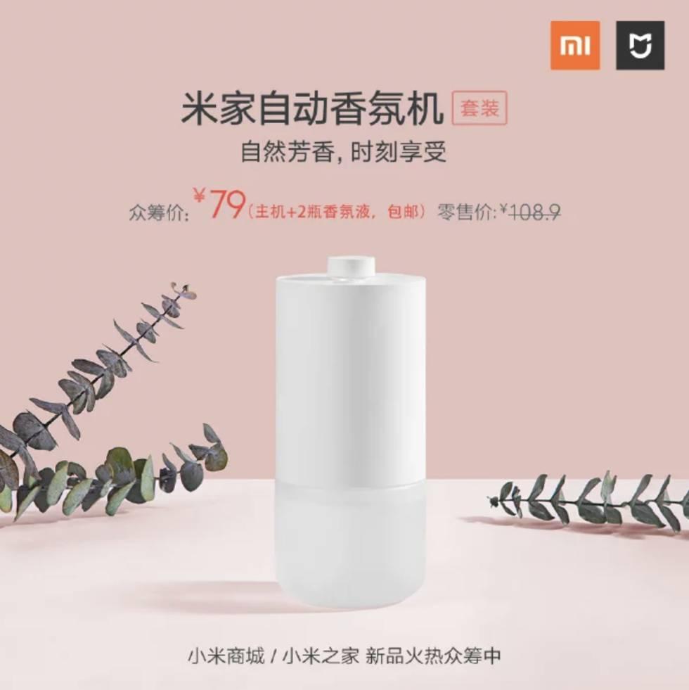 Ambientador Mijia de Xiaomi.