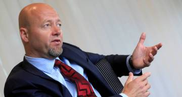 Yngve Slyngstad, former CEO of the Norwegian sovereign wealth fund NBIM