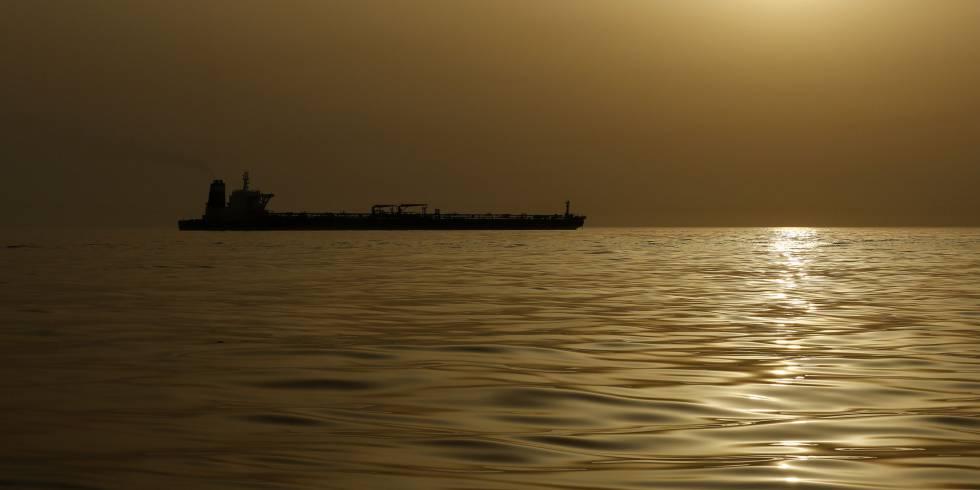 Un petrolero en una imagen de archivo.